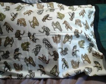 Frog Pillowcase