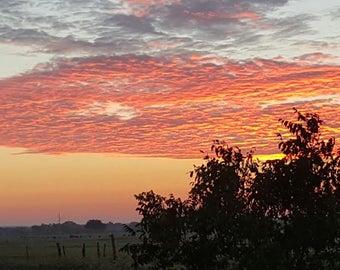 Texas Sunrise Photograph