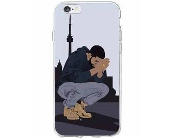 Drake In the Six Phone Case, Drake Toronto iPhone Case, Drake Phone Case, Drake Samsung Case, The Six iPhone Case / Fits iPhone and Samsung