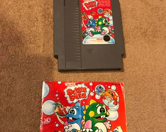Bubble Bobble NES Nintendo Complete in Box