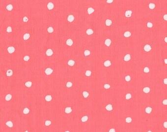 Nani Iro Japanese Fabric Kokka Pocho Double Gauze - rose bobble - 50cm
