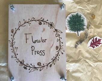 Flower Press - Wreath
