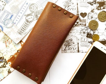 Limited edition Handmade leather travel wallet