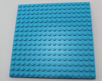LEGO® Mosaic Backing Plates 16x16 - Blue/Azure