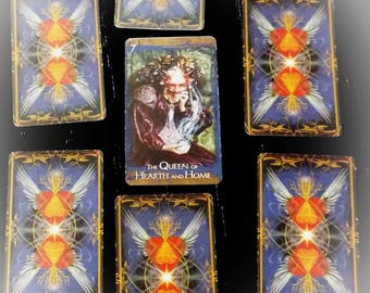 Seven Card Fairy Oracle Reading
