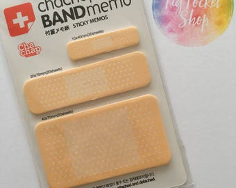 Plasters Bandages First Aid Funny Post its Sticky Notes