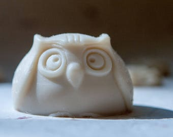 A Youthful Glow - All-Natural Wise Owl Body Soap (Jasmine, Sandalwood, and Vanilla)