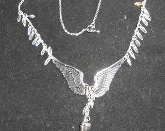Necklace - Winged Coffee Charm