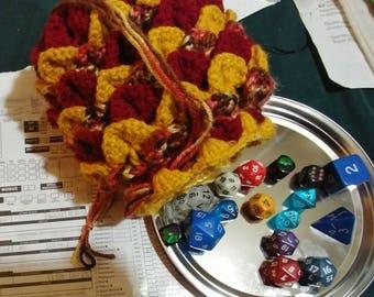 Fire Dragon Dice Bag