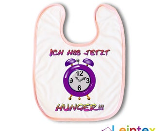 "Bib ""now hunger"" baby baby bibs No108"