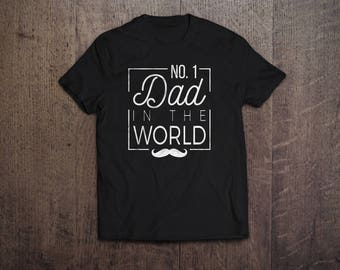 Number 1 Dad - Father's Day Gift
