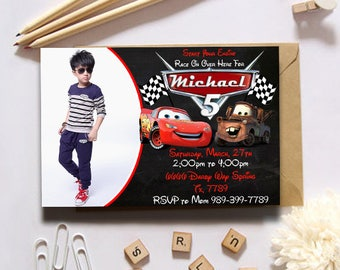Disney Cars|Cars Invitation|Cars Birthday Invitation|Disney Cars Invitation|Cars Birthday|Cars Birthday Party|Cars 3|Cars 3 Invitation
