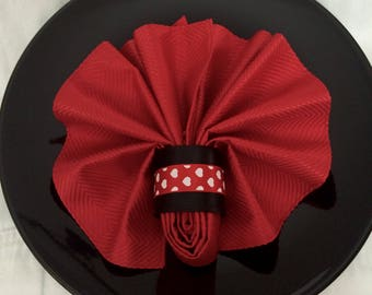 "1.5"" Valentines Napkin Holder"