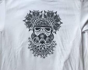 XL Star Wars Stormtrooper Mandala T-shirt