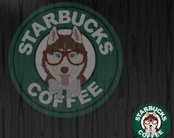 Starbuck Husky SVG
