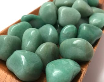 Green Aventurine Tumbled Stone #T4
