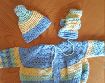 Baby Boy 9-12 month sweater set