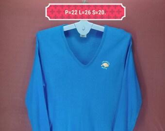 Vintage Colorado Buffs Sweatshirt Moorewear Sweater Blue Colour Size XL Made In Japan Polo Ralph Lauren Sweatshirts Polo Bear Polo Stadium