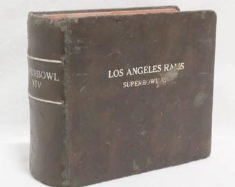 1979 Rams Super Bowl Photo Album Ray Malavasi Original NFL Football Memorabilia