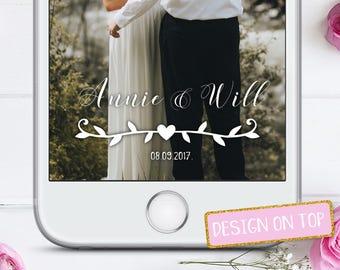 Wedding snapchat filter, Snapchat filter wedding, Snapchat wedding filter, wedding geofilter, Wedding snapchat geofilter
