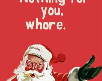 Funny Christmas Coaster!