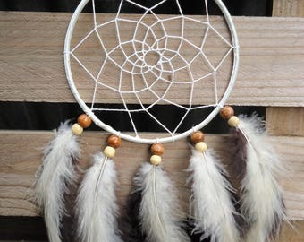 neutral dream catcher | boho dreamcatcher | bohemian | dreamcatcher | home decor | wall decor