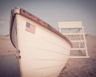 USA Flag at the Beach - Digital Download Photo