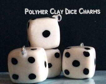 Dice Keychains ~Polymer Clay Charm~