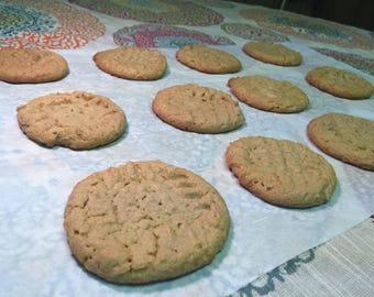 1 Dozen Whole Jar of Peanutbutter Cookies
