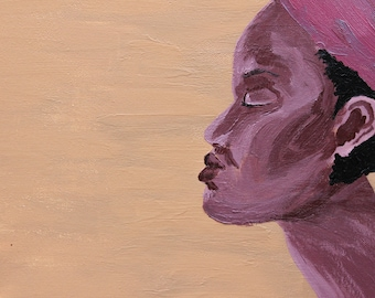 Mama Africa - Original Acrylic Painting Prints
