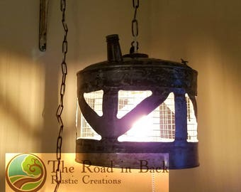 Gas Can Hanging Lamp