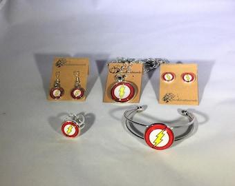 The Flash Full Jewelry Set