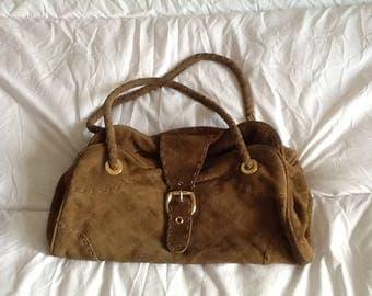 Kurt Geiger suede brown bag