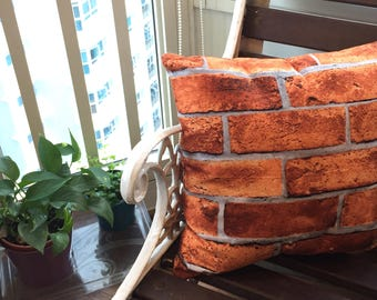 You're Still Just Another Brick In The Wall (A cushion to accentuate your nightmares & dreamscapes).
