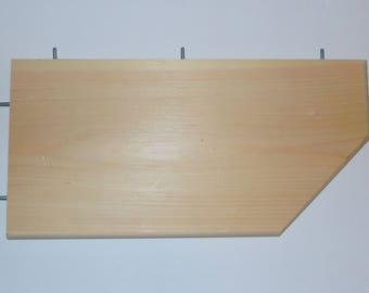 """Chinvilla Chinchilla HUGE 23"""" Natural Kiln Dried Pine Ledge, Shelf, Perch"""