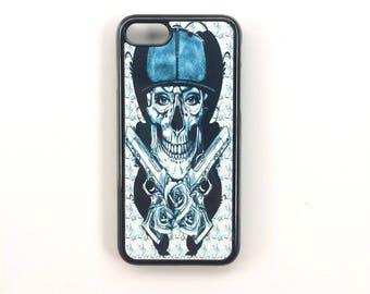 Shell phone Iphone 7 black hard plastic