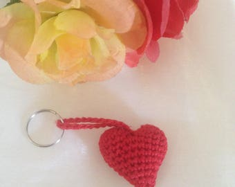 Heart pendant / key fob