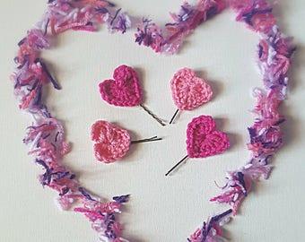 Heart hair accessory