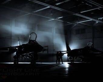 Pre-flight - RAF SEPECAT Jaguars