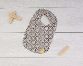 African pattern (sewing aena) bib
