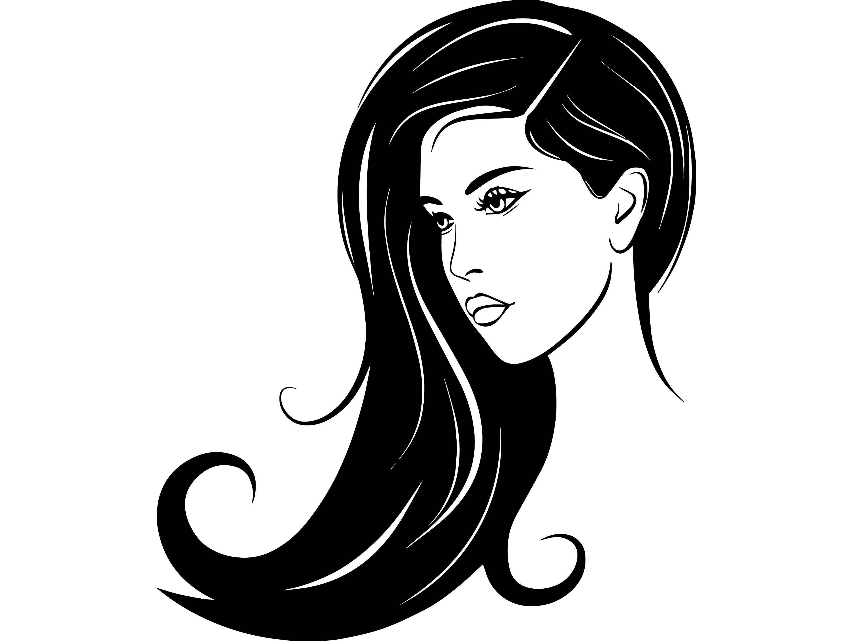 Black Hair Logos