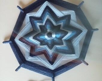 Mandala eyes of God 22cms - 8.7 inches