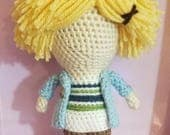 Mystic Messenger Inspired Yoosung Kim Amigurumi Doll- Ready to Ship