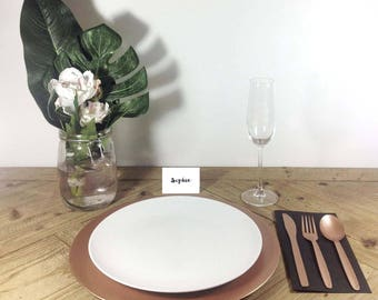 PERSONALISED PLACE CARDS