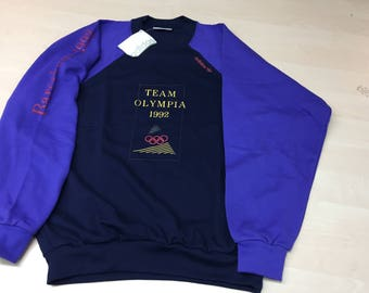 Dead Stock Adidas Olympic Summer Games Barcelona 1992 Sweathirt/Sweater