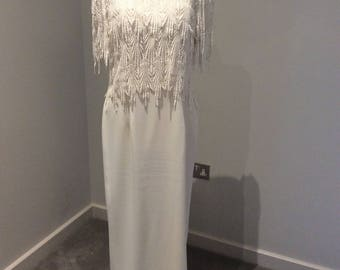 Vintage 1990's ivory gown
