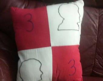 Third Doctor Pillow