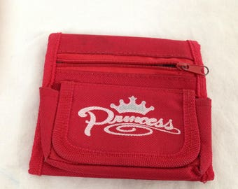 Red princess wallet
