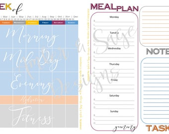 Office Colorway- Planner 2.0, 12 month, undated planner