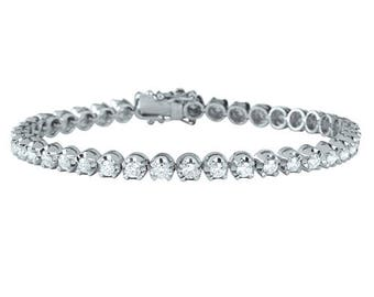 Seven Pointer Diamond Bracelet